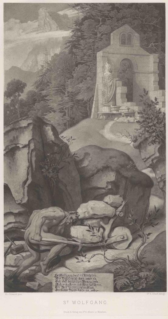 Legende vom Bischof und dem Teufel