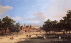 London: the Old Horse Guards and Banqueting Hall, from St James's Park