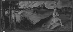 Magdalenenaltar: Jonas und der Wal (Anonymer Meister seiner Werkstatt)