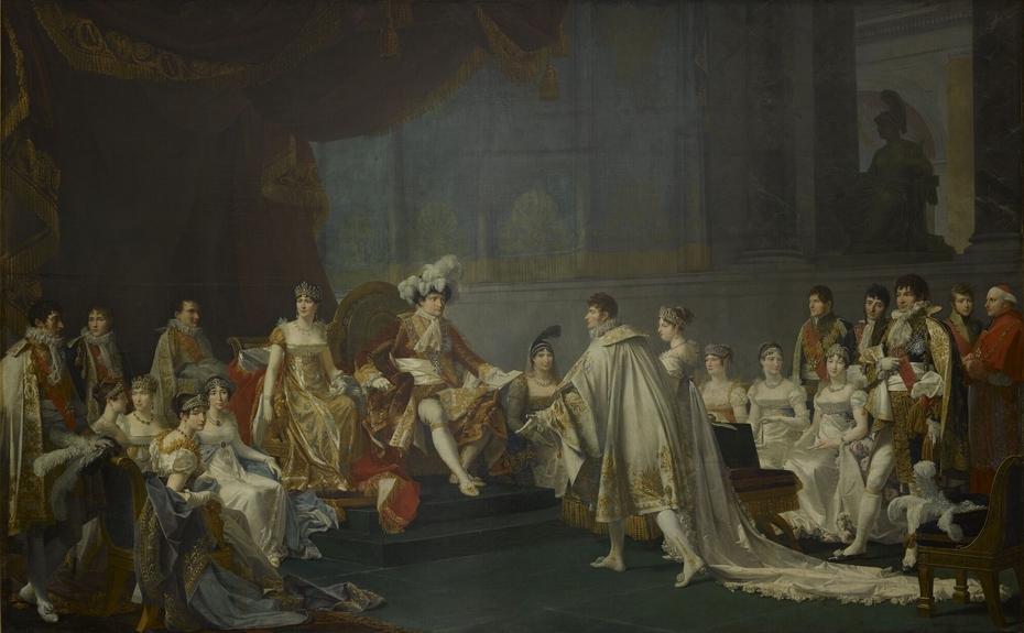 Mariage du Prince Jérôme Bonaparte et de la Princesse Frédérique Catherine de Wurtemberg, 22 août 1807