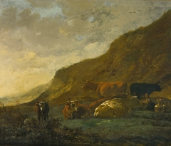 Milkmaid with Six Cows