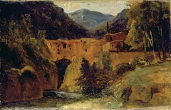 Mill in the valley near Amalfi