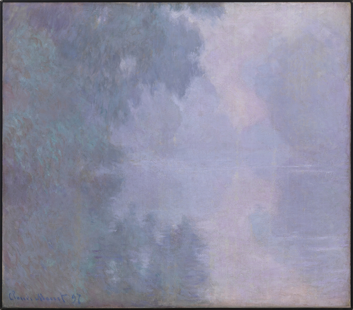 Morning on the Seine, Giverny