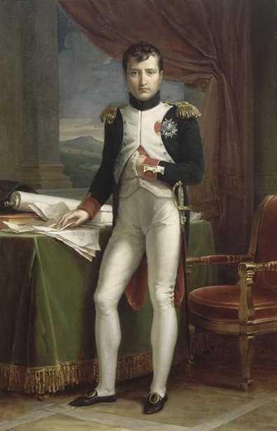 Napoléon Ier en uniforme de colonel des grenadiers à pied de la Garde