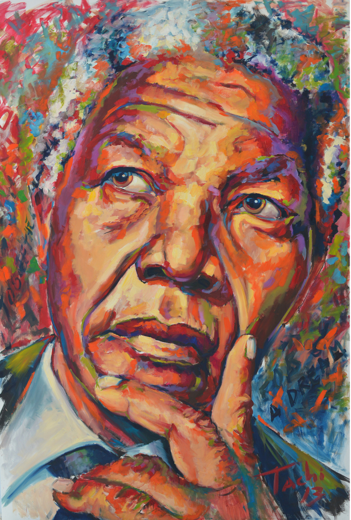 Nelson Mandela Cool Art