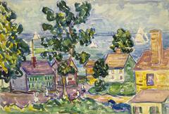 New England Coastal Village