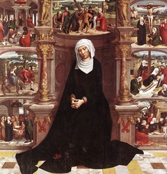 Our Lady of the Seven Sorrows (Left wing of diptych)