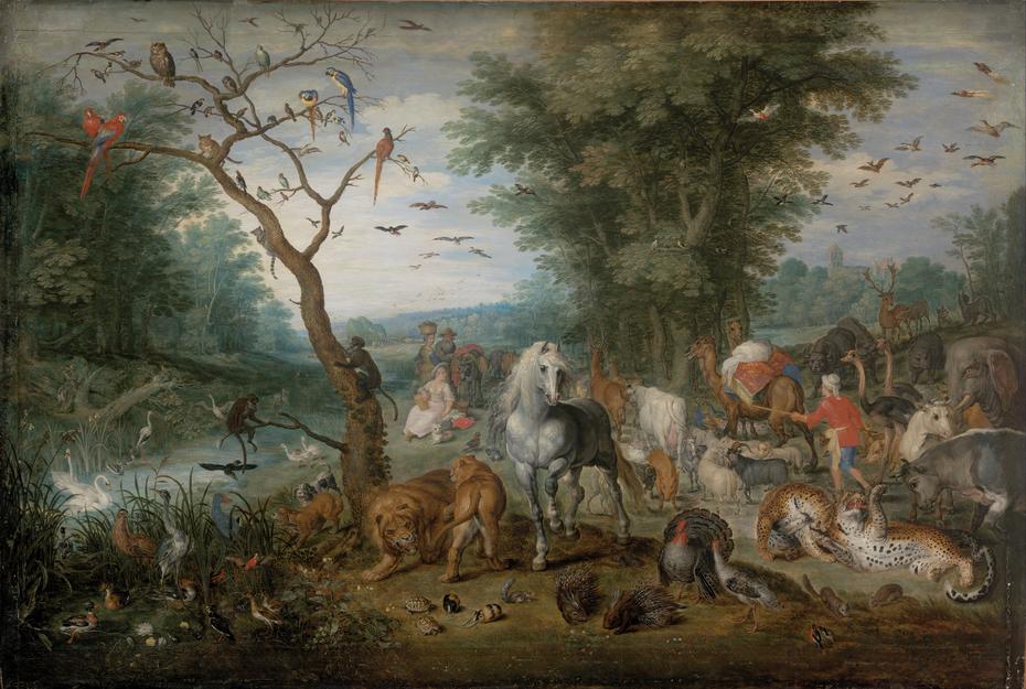 Paradise Landscape with Animals