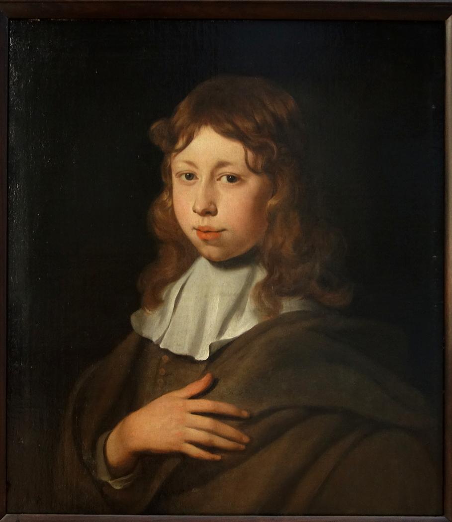 Portrait d'un jeune garçon à l'âge de 12 ans
