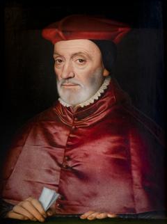 Portrait de Jean Bertrand, archevêque et cardinal de Sens