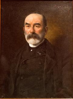 Portrait de Lucien Decombe, conservateur du musée archéologique de Rennes