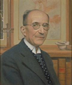 Portrait de M. Louis Lacroix