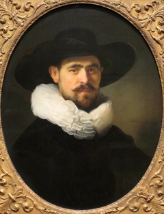 Portrait of a Bearded Man in a Wide-Brimmed Hat, probably Pieter Seijen (1592-1652)