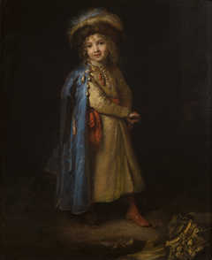 Portrait of a Boy in the Polish National Costume