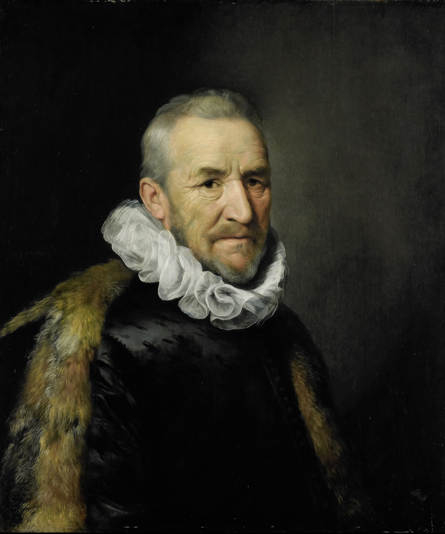 Portrait of a man formerly identified as Johan van Oldenbarnevelt (1547-1619)