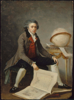 Portrait of a Man in his Study
