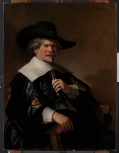 Portrait of a Man Seated in an Armchair
