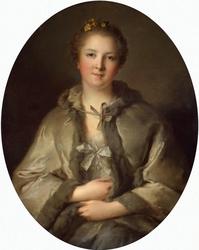 Portrait of a Woman in Grey