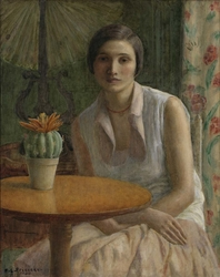 Portrait of a Woman (with Cactus)