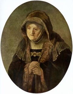 Portrait of an Old Woman (Prophetess Hannah)