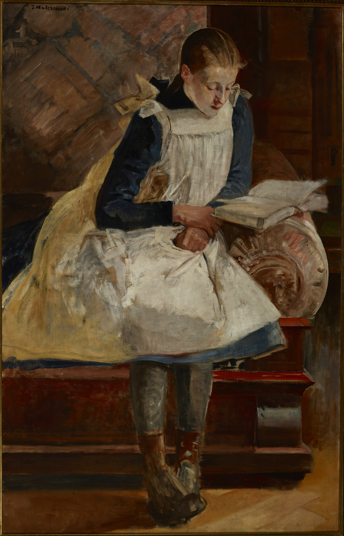 Portrait of Artist's Daughter Julia