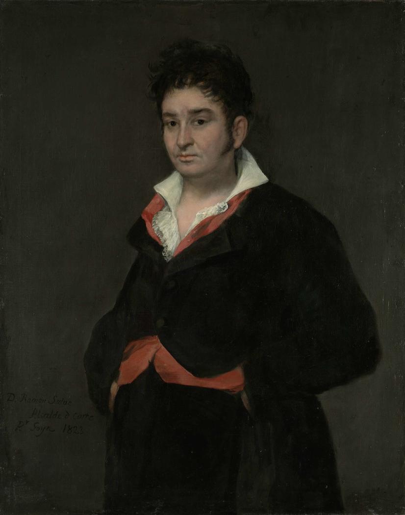 Portrait of Don Ramón Satué