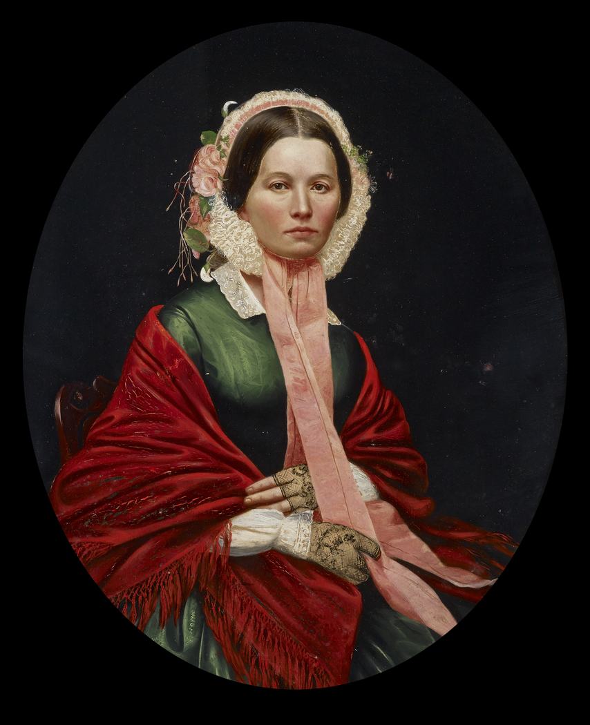 Portrait of Ellen Houser Hays
