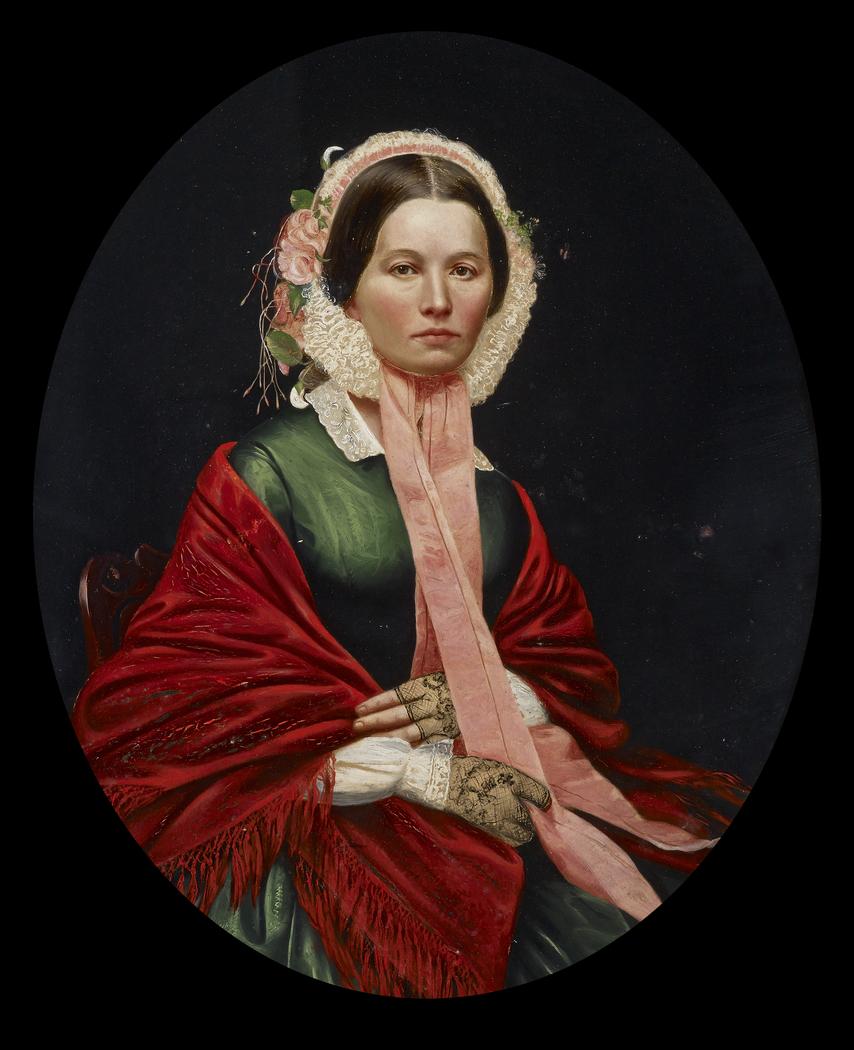Portrait of Ellen Houser Hays