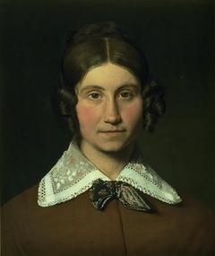 Portrait of Emilie Krohn, née Købke, the Artist´s Sister-in-Law