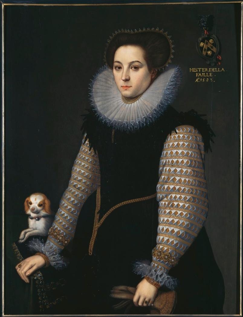 Portrait of Hester de la Faille