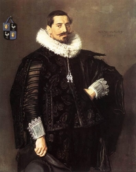 Portrait of Jacob Pietersz Olycan (1596-1638)