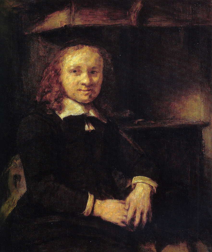 Portrait of Jan Boursse, Sitting by a Stove