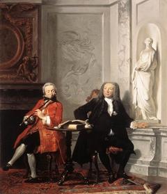 Portrait of Jeronimus Tonneman and his Son Jeronimus ('The Dilettanti')