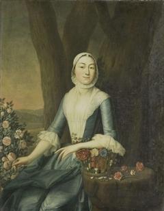 Portrait of Magdalena van Citters, Wife of Adriaen Isaac Hurgronje