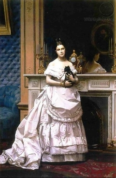 Portrait of Marie Gérôme