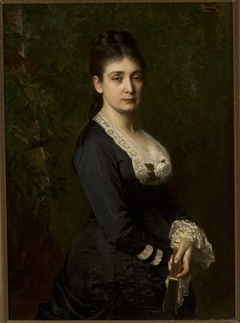 Portrait of Mina Fajans (1841–1933)