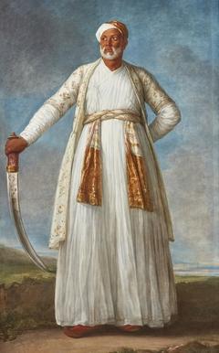Portrait of Mohammed Dervish Khan