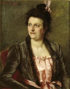 Portrait of Mrs. J.A.C. van Bilderbeek-Lamaison van Heenvliet