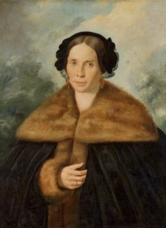 Portrait of Mrs. Rudowska.