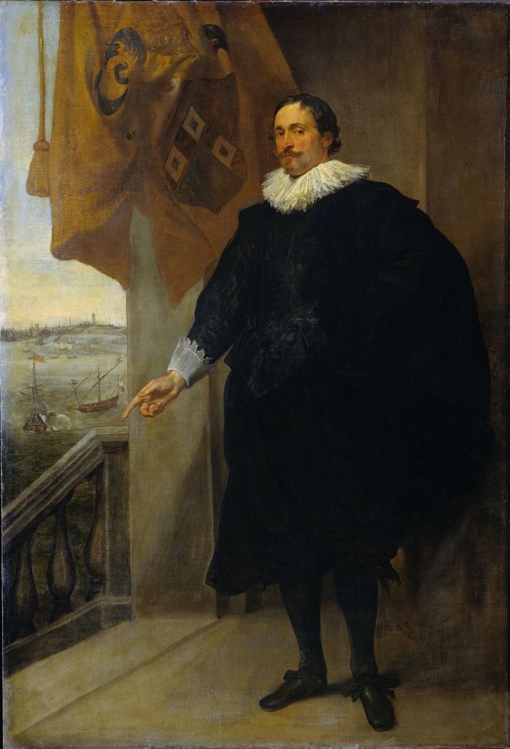 Portrait of Nicolaes van der Borght, Merchant in Antwerp