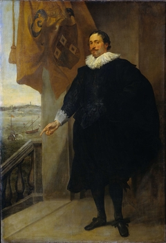 Portrait of Nicolaes van der Borght, Merchant in Antwerp