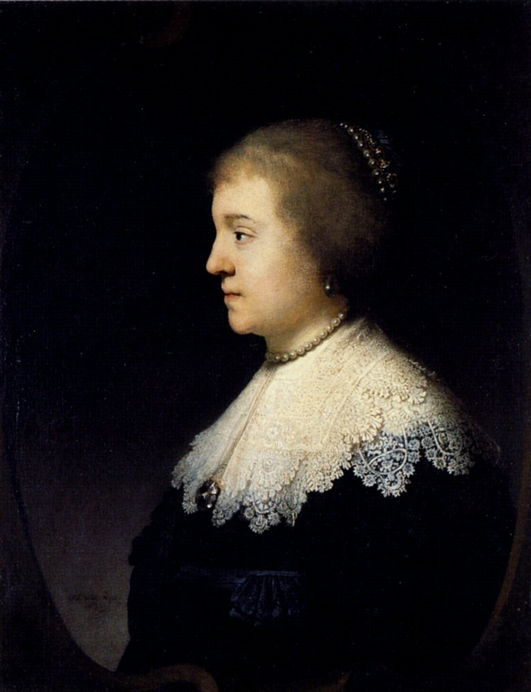 Portrait of Princess Amalia van Solms