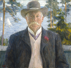Portrait of the Composer Thorvald Lammers