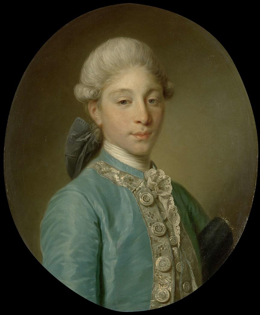 Portrait of the Marquis de Saint-Paul