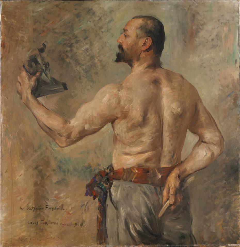 Portrait of the sculptor Friedrich