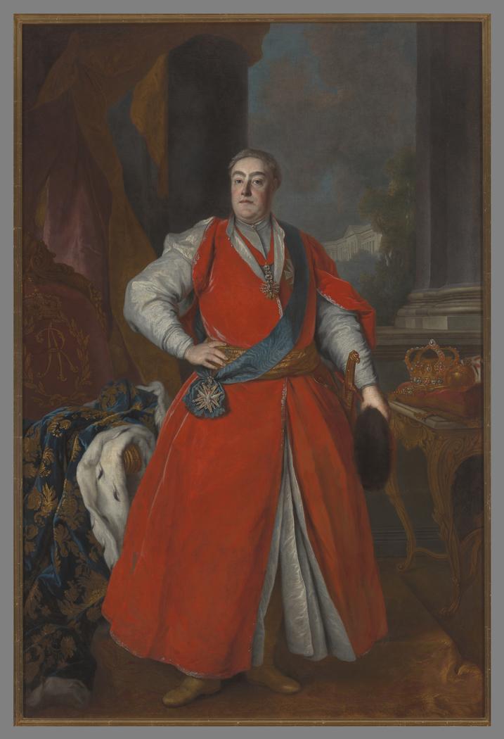 Portret Augusta III Sasa (1696-1763), króla Polski