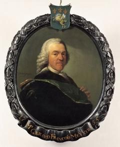 Portret van Gerard François Meyners (1711-1790), bewindhebber van de VOC tussen 1755 en 1790