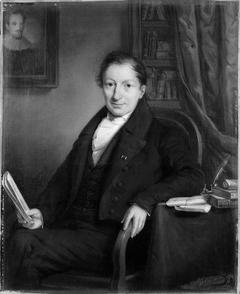 Portret van Jeronimo de Vries, griffier van de stad Amsterdam