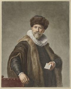 Portret van Nicolaas Ruts