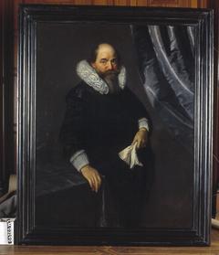 Portret van Pieter d'Ablain